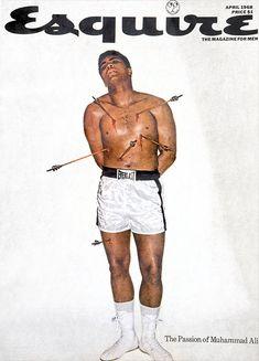 """Si hablamos de uno de los grandes nombres que hay detrás de la revista Esquire, uno de ello sin duda alguna seria Michael Norseng, director de fotografía de la revista. Trabajó desde el año 1962 hasta 1972 desempeñando la labor de dirección artística de la emblemática revista. Suyas son algunas de las portadas más famosas de la historia del magazine, como la de Mohammed Ali, Andy Warhol o Richard Nixon entre otras. Hagamos un breve repaso y veamos también algunas fotografías del """"making…"""