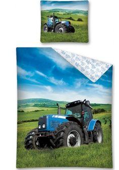 Detské posteľné obliečky s motívom traktora Tractors, Vehicles, Car, Vehicle, Tools
