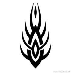 Tatuaż przedstawiający Tribal - grot w serwisie z tysiącem wzorów tatuaży sprawdź: http://www.wzorytatuazy.net/tribal-grot  #tribal #tatoo #tatuaże #wzorytatuazy #dziara