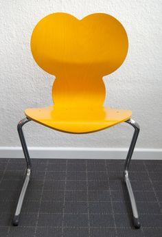 Verner Panton 'Pantoflex' MM Mickey Mouse Children Chair, 1990s