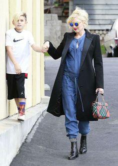 Love Gwen Stefani's take on maternity wear!