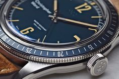 The Christopher Ward Trident Diver is New Vintage Cool Watches, Watches For Men, Mens Smart Casual Outfits, Christopher Ward, Watch Crown, Android Watch, Popular Watches, Best Watch Brands, Seiko Watches