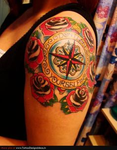 Star Tattoos nautical old school really cool design