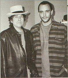 15- Bob Dylan and Dave Matthews