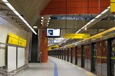 Metro station. Place to determine.