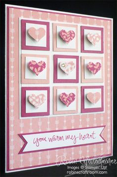 Fun with Valentine Cards – Card #3