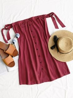 SHARE & Get it FREE   Tied Button Up Mini Dress - Wine Red SFor Fashion Lovers only:80,000+ Items • New Arrivals Daily Join Zaful: Get YOUR $50 NOW!