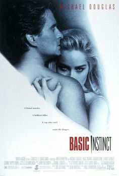 Basic Instinct is a 1992 American erotic thriller film directed by Paul Verhoeven and written by Joe Eszterhas, and starring Michael Douglas and Sharon Stone. Sharon Stone, Wayne Knight, Basic Instinct Movie, Movies To Watch, Good Movies, Movies 22, Movies Free, Netflix Movies, Film Mythique