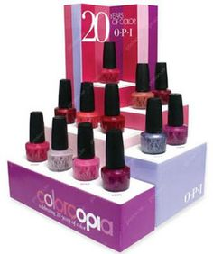 OPI collections 2009