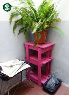 DIY Wood Working Projects: Pallets Recycling • Recycled Ideas • Recyclart