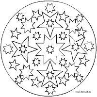 Sterne Mandala