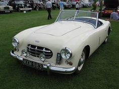 1952 Healey G type Sports  Convertible.