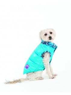 Fashion Pet Lookin Good Reversible Puffy Vest for Dogs, Large, Turquoise * Discover this special dog product, click the image : Dog Dresses Small Dog Accessories, Cute Dog Clothes, Puffy Vest, Animal Fashion, Dog Dresses, Plaid Flannel, Small Dogs, Puppy Love, Best Dogs