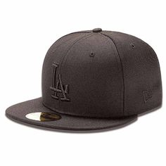 New Era LA Dodgers cap is a featuring a flat peak with embroidered team  logo Mens cap Polyester Flat peak Fitted b91101c0f3bb