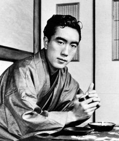 Yukio Mishima (1925-1970), a Japanese author, poet, playwright, actor and film director, also remembered for his ritual suicide by seppuku after a failed coup d'état. Nominated three times for the Nobel Prize in Literature, Mishima is considered one of the most important Japanese authors of the 20th century, whose avant-garde work displayed a blending of modern and traditional aesthetics that broke cultural boundaries, with a focus on sexuality, death, and political change.