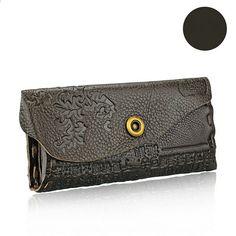 DAWABO cvjetne žene novčanici Hasp novčića torbica Žene prave kožne marke  Long torbica Holder kartica Feminina Carteira torbica. Cheap wallet ... d7d7989aeb64