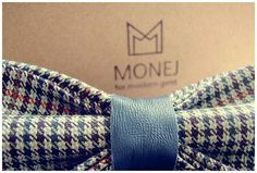 Green Men's Bow Tie FREE SHIPPING Bowtie with Blue by MonejBowTies