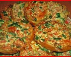 Delicious thick stuffed pancakes in 10 minutes Ratatouille, Baked Potato, Baked Goods, Zucchini, Spinach, Deserts, Food And Drink, Appetizers, Snacks