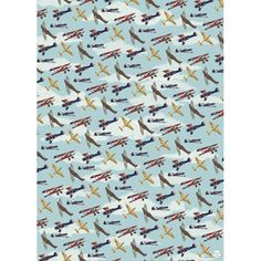 Vintage Planes Wrapping Paper