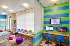 GAME CENTER. Pediatric Dentist in Del Mar, California. Kid-Friendly Carnival Themed Office. #SunnySmilesKids