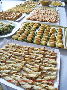 UNA BELLA IMPRESA - l'ombelico di Venere Party Buffet, Cannoli, Finger Foods, Dolce, 18th, Pasta, Halloween, Funny Food, Dinner