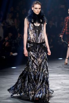 Roberto Cavalli | Fall 2014 Ready-to-Wear Collection | Emma Champtaloup