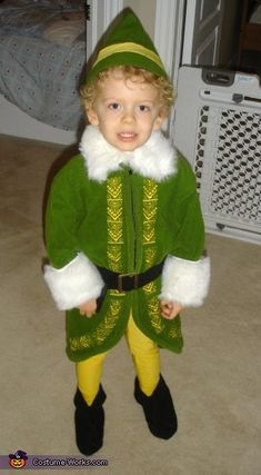 Buddy the Elf / Will Ferrell - Halloween Costume Contest via @costumeworks