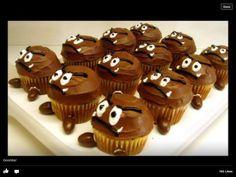 Mario gumba cupcakes
