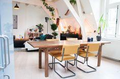 Shop Similar: STORNÄS Extendable table - IKEA, MALM Dressing table - IKEA, Eetkamerstoel Malmo Oker | Kwantum and more