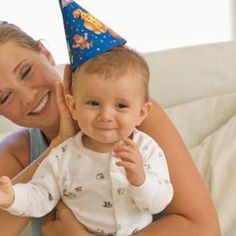 First birthdays can include activities for babies, older children and adults.
