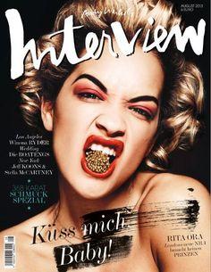 Rita Ora - Interview magazine cover [Germany] (August 2013)