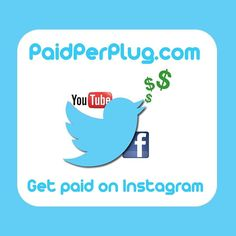 Get paid to plug the products and services you like helping companies create a buzz. www.paidperplug.com #reviewer #post #ads #products #paid #getpaid