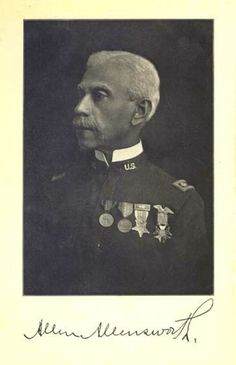 Allen Allensworth escaped slavery in Kentucky to join the Union Army during the Civil War.  At the time of his retirement from the Army in 1906, Allensworth held the rank of Lieutenant Colonel, and was the highest-ranking black officer of this time.   Along with several other important black leaders, Allensworth directed the establishment of an all-black colony in Tulare County in Central California in 1908.