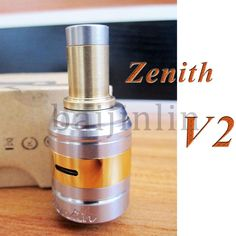 Best Zenith V2 Atomizer - Cheap Zenith V2 Atomizer Update Rba Rda for 26650 18650 Battery Mods of Ecigs Rebuilable Coil And Airflow Control Zenith Vaporizer Baijinlin Clone Online with $9.64/Piece | DHgate