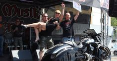 """I Place in """"BEST Vrod-Nrod"""" class at Bike and Music Weekend 2015, Geiselwind Germany – Nimrod"""