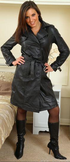 Long Leather Coat, Leather Skirt, Latex, Hot, Skirts, Fashion, Nice Things, Clothing, Moda