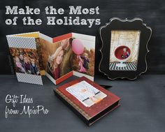 Ideas on how to maximize the season with fun photo gifts. #photogpinspiration