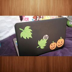 Halloween laptop DIY