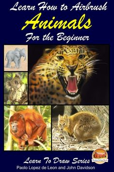"""Read """"Learn How to Airbrush Animals For the Beginner"""" by Paolo Lopez de Leon available from Rakuten Kobo. Learn How to Airbrush Animals For the Beginner TABLE OF CONTENTS Introduction: Materials: Colors Terms Airbrush and its . John Davidson, Goblin Art, Art Et Architecture, Fairy Drawings, Quokka, Air Brush Painting, Airbrush Art, Beginner Painting, Learn To Draw"""