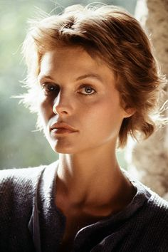 American actress, singer and producer Michelle Pfeiffer during the filming of 'Ladyhawke', Female Actresses, Actors & Actresses, Michelle Pfeiffer, Cinema Actress, Fantasy Films, Hair Reference, Angel Eyes, Special People, Hollywood Glamour