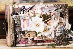 Retro Inspiracje: Romantyczny album na zdjęcia / Retro Inspirations: Romantic photo album