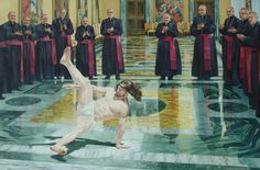 If God is a DJ, Jesus is a breakdancer