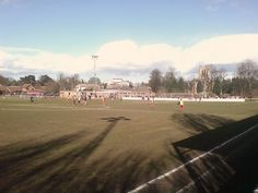 The War Memorial Ground - home of Stourbridge Town FC aka The Glassboys.