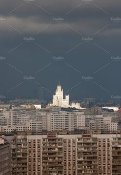 Architecture of Moscow by Wonderful World on @creativemarket