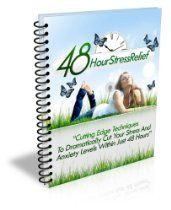 48 HOUR STRESS RELIEF (CUTTING EDGE TECHNIQUES TO DRAMATICALLY CUT YOUR STRESS AND ANXIETY LEVELS WITHIN JUST 48 HOURS )  By Abdur Rahim