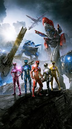 This Is Why Power Rangers Movie Wallpaper Is So Famous! Power Rangers 2017 Zords, Go Go Power Rangers, Rangers Team, Power Rengers, 2017 Wallpaper, Movies And Series, Keys Art, Mighty Morphin Power Rangers, Black Panther Marvel