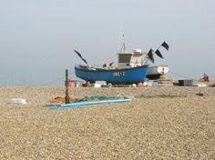 Aldeburgh beach, Suffolk,