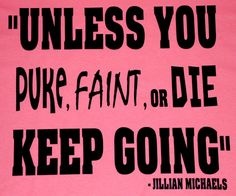 Running motivation Tshirts Unless you puke faint or by chasingelly