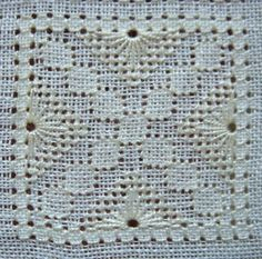 SAL Pulled Thread Tutorials         Four-Sided-Stitch Layout            Preparations           Pattern No.1         Pattern No.2         Pa...