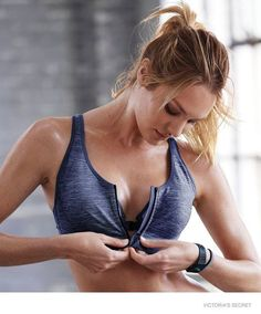 Candice Swanepoel - Victoria's Secret sport line lookbooku